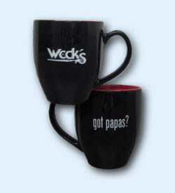 "Weck's ""Got Papas?"" Mug"