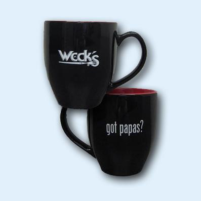 "Weck's ""Got Papas?"" Mug"