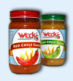 Weck's Red and Green Chile