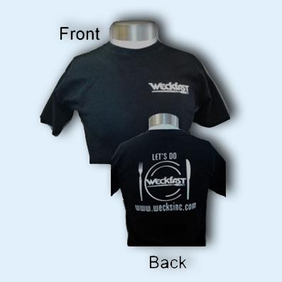 """Weck's """"Weckfast"""" T-shirt"""